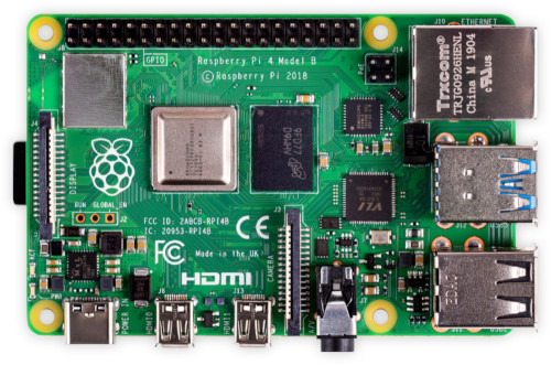 Image of Raspberry Pi 4