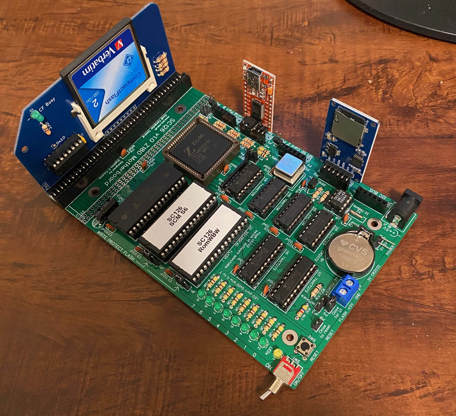 Image of SC126 Z80 Retro Computer